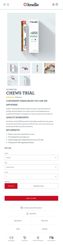 kradle-chews